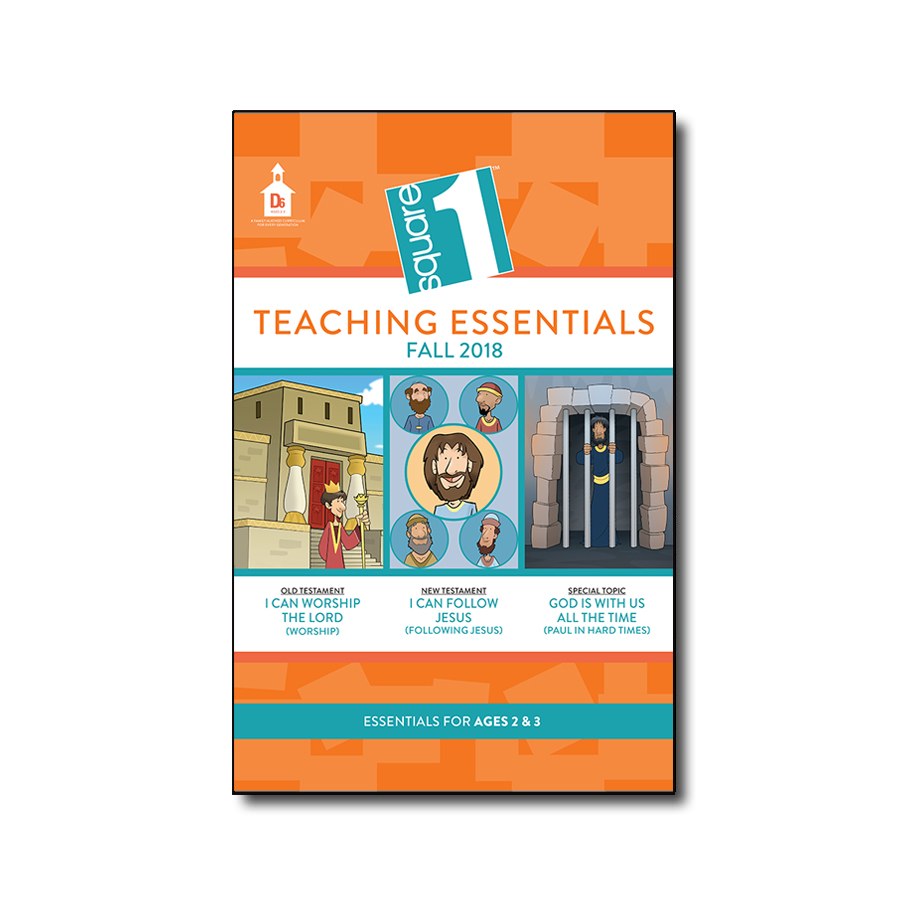 Square 1 Teaching Essentials Ages 2's & 3's (Includes Teaching Guide)